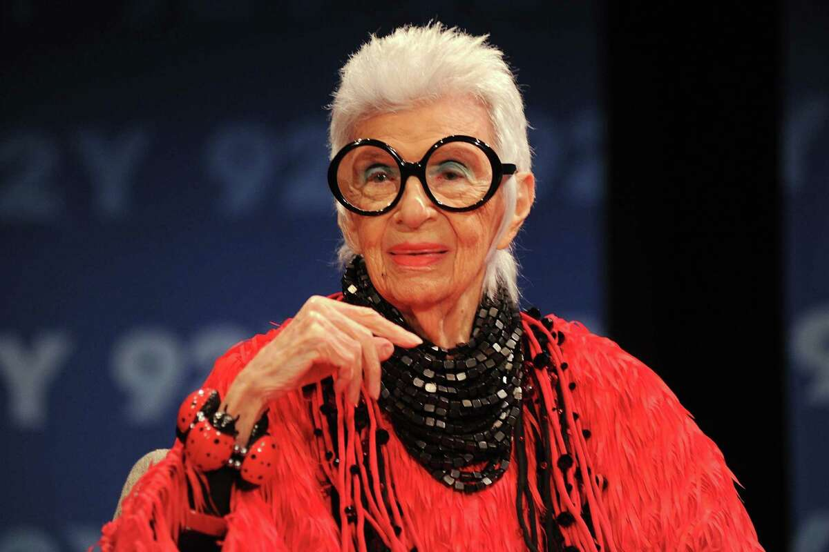 Style-icon Iris Apfel discusses her coloring book and living in color