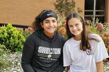 Jess Jayakar and Liz Porto were recognized for excellence in the classroom and in athletics.