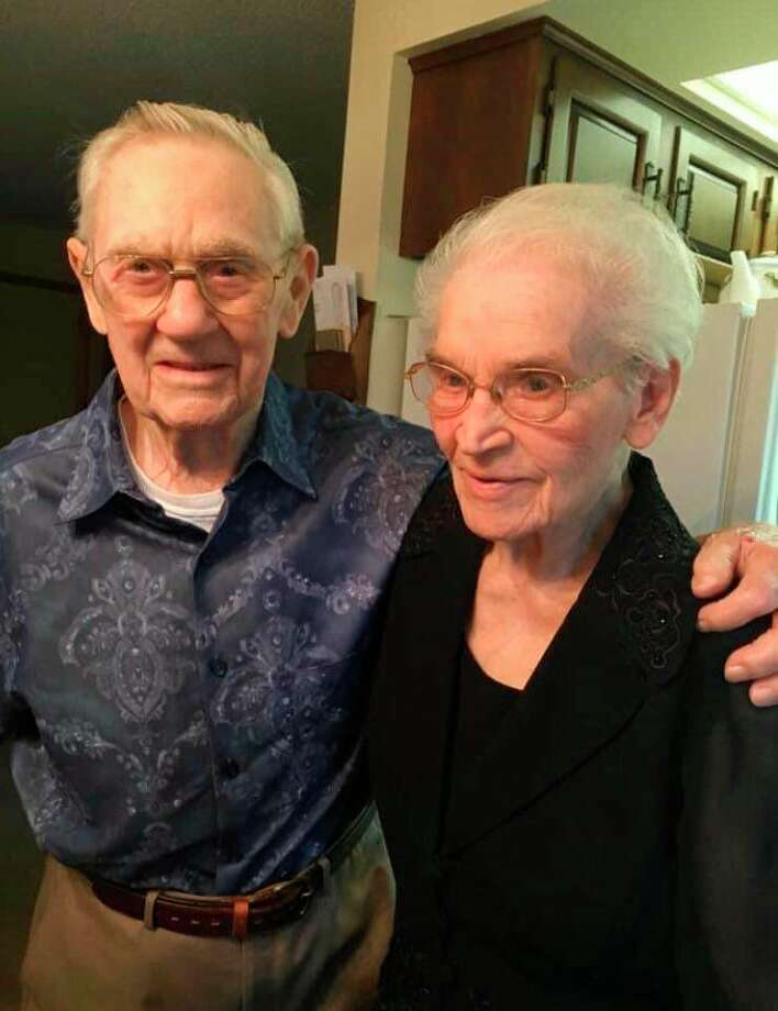 Elmer Micklash will celebrate his 100th birthday on November 9, many of the years were spent with his wife Beatrice who passed away in August. (Courtesy Photo)