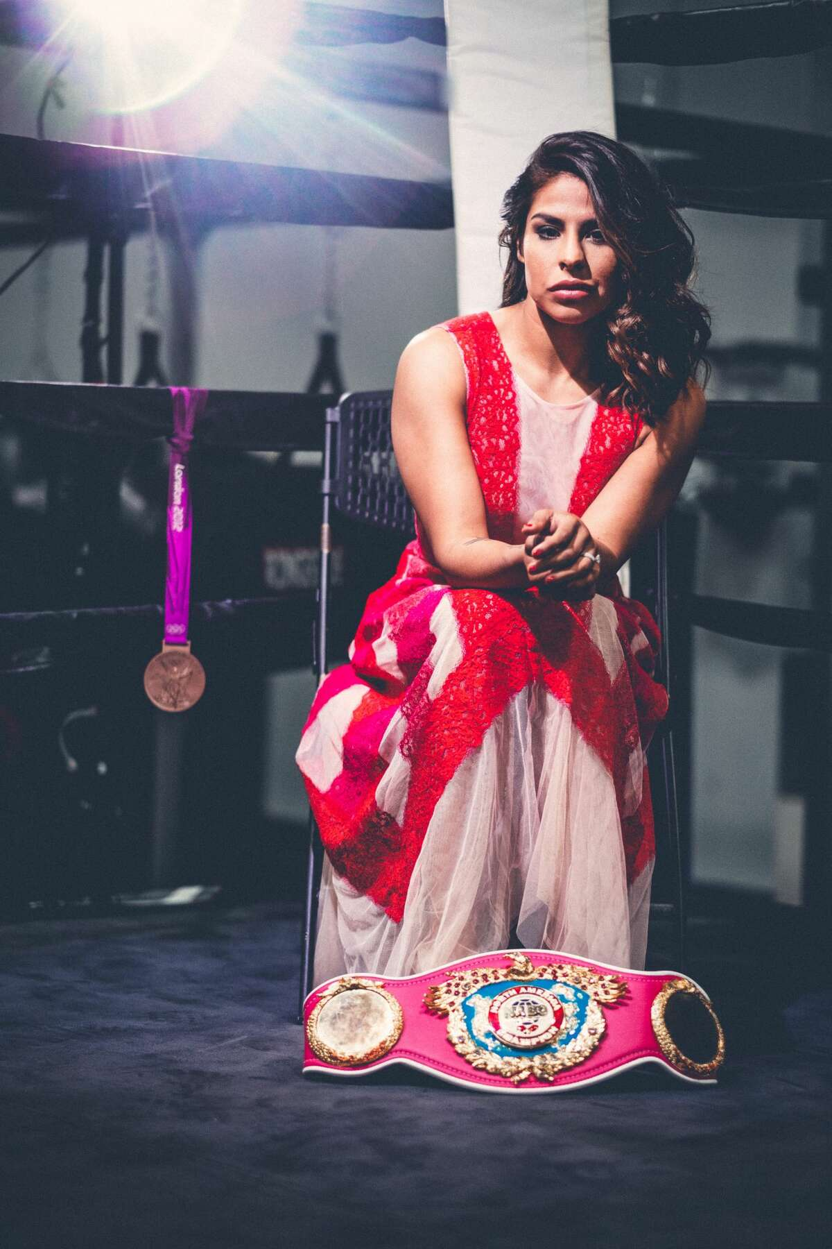 Houston boxer Marlen Esparza is ready to get back in the ring for her bout against contender Sulem Urbina on Oct. 30.