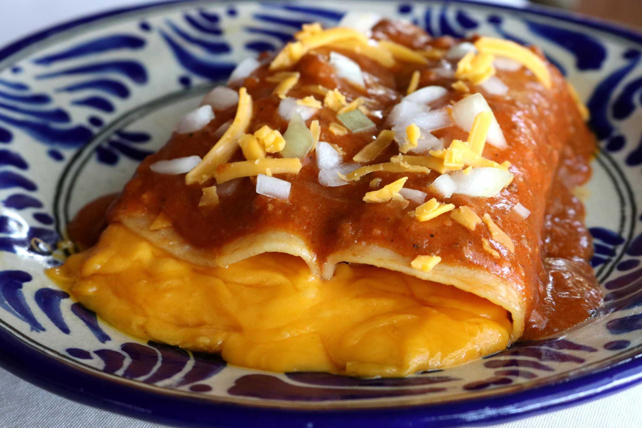 Houston Recipes: Cheese Enchiladas from Sylvia Casares