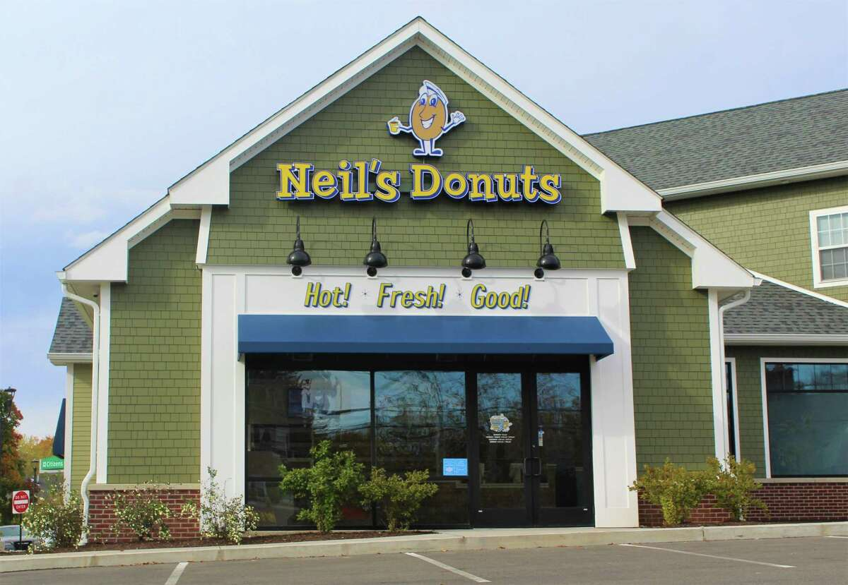 Neil's Donuts held a soft opening at its new 211 S. Main St. location in Middletown. A grand opening celebration is slated for Nov. 14. One customer said the 211 S. Main St. parking lot was overflowing with vehicles. Local officials, including Common Councilmen Ed McKeon and Minority Leader Phil Pessina and Mayor Ben Florsheim, proudly posted photos about their visits on social media. The mayor shared information about election voting on his Facebook page about an hour before a picture of him about to eat a chocolate crunch creation. He joked Wednesday afternoon about the latter receiving so many comments and likes that it eclipsed his earlier post.