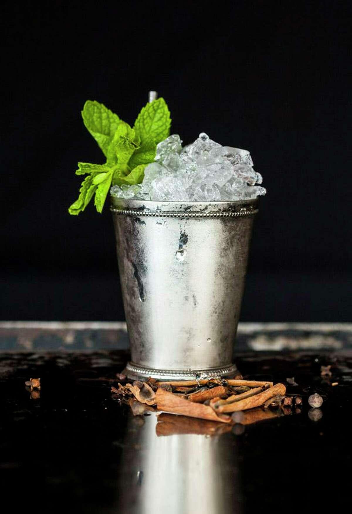 A Mint Julep at Julep, Alba Huerta's cocktail bar.