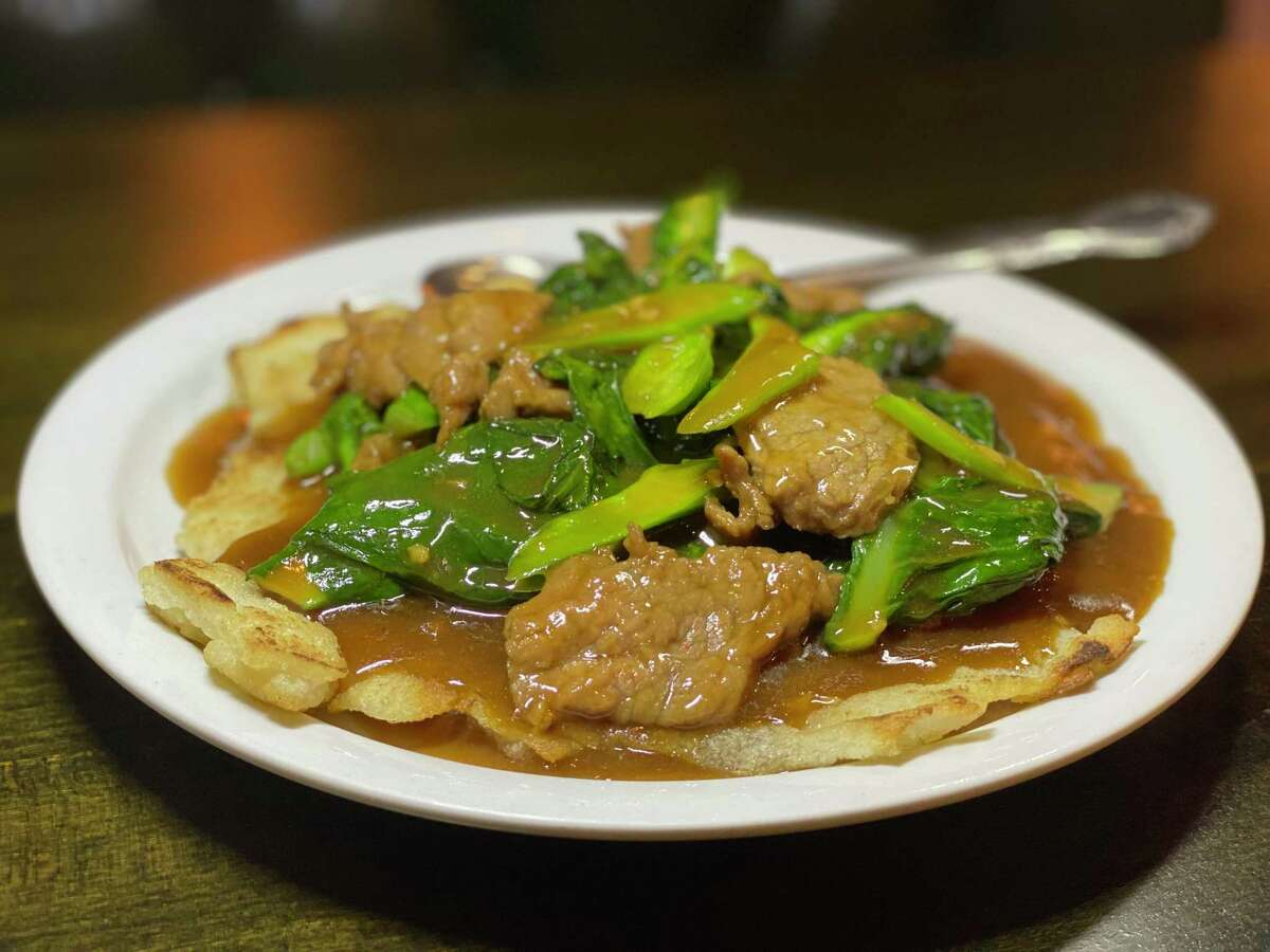 Beef Broccoli pan fried hor fun is a hit at Mein.