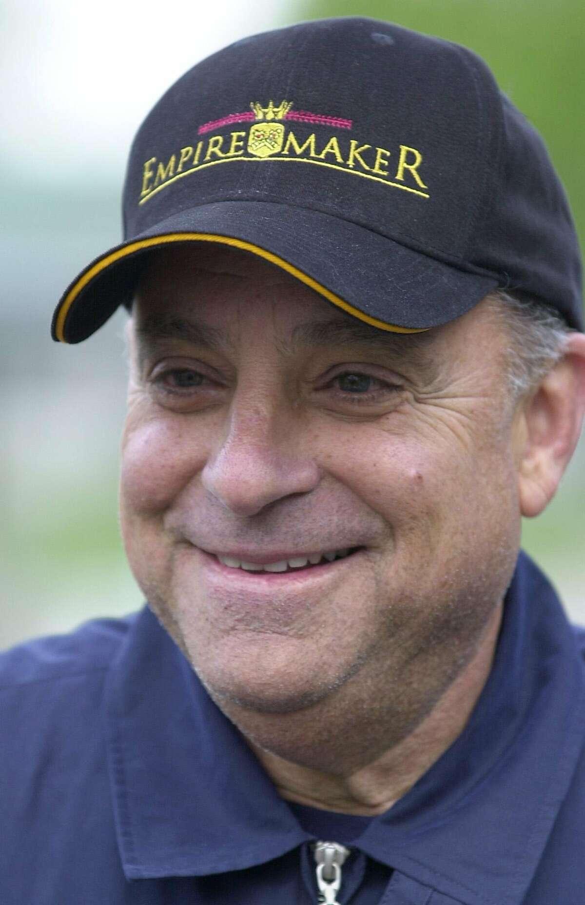 Hall of Fame horse trainer Bobby Frankel