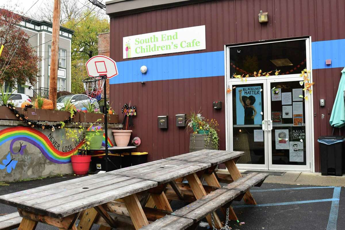 Exterior of South End Children's Cafe on Wednesday, Oct. 28, 2020 in Albany, N.Y. (Lori Van Buren/Times Union)
