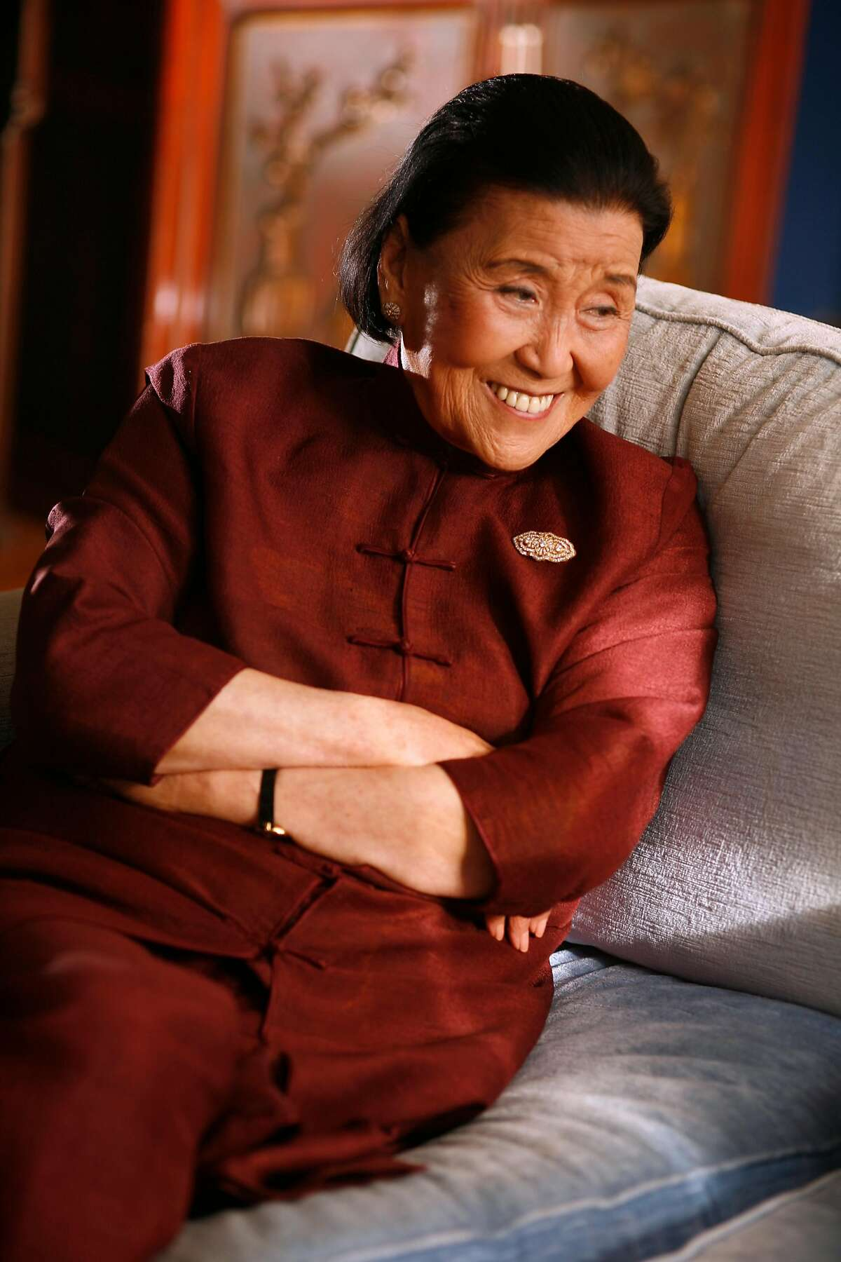 Cecilia Chiang, former owner of the groundbreaking Mandarin restaurant in Ghirardelli Square in the late 1960's.