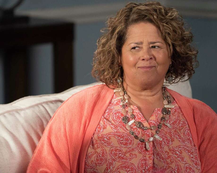 "Actor Anna Deavere Smith, pictured in a scene from ABC-TV's ""Black-ish,"" will be Westport Library's 2020 Malloy Lecture in the Arts guest speaker Nov 10. She will present a performance of ""Snapshots: Portraits of a World in Transition,"" and take questions at this virtual event. Photo: Ron Tom / Walt Disney Television / Getty Images / 2018 American Broadcasting Companies, Inc."
