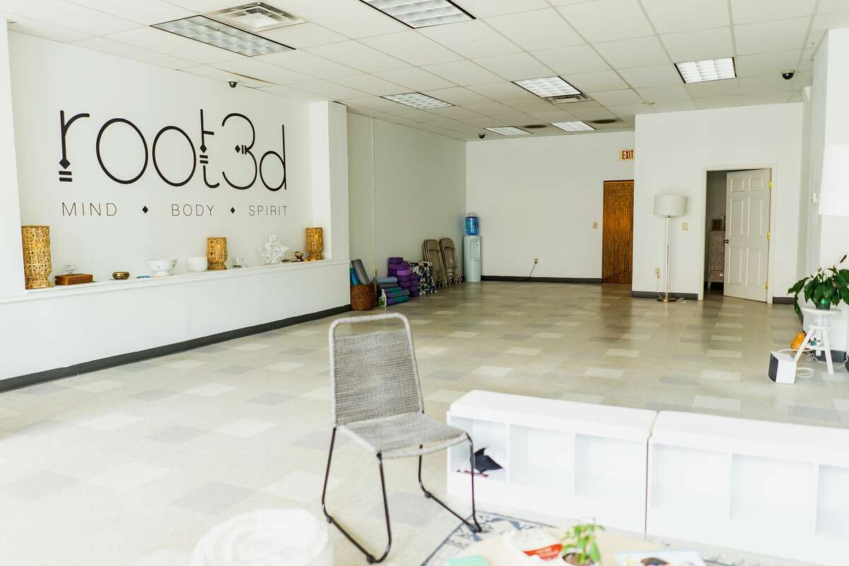 The interior of Root3d, a wellness center on South Pearl Street in Albany. (Photo by Kiki Vassilakis.)