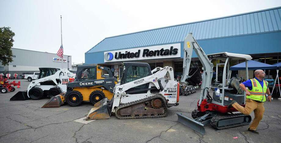 United Rentals operates a depot at 224 Selleck St., in Stamford, Conn., and seen here in September 2019. Its headquarters are located a few blocks away in the First Stamford Place complex. Photo: Matthew Brown / Hearst Connecticut Media / Stamford Advocate