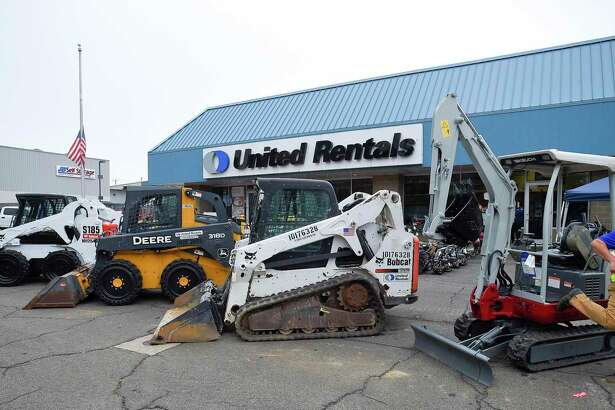 United Rentals operates a depot at 224 Selleck St., in Stamford, Conn., and seen here in September 2019. Its headquarters are located a few blocks away in the First Stamford Place complex.