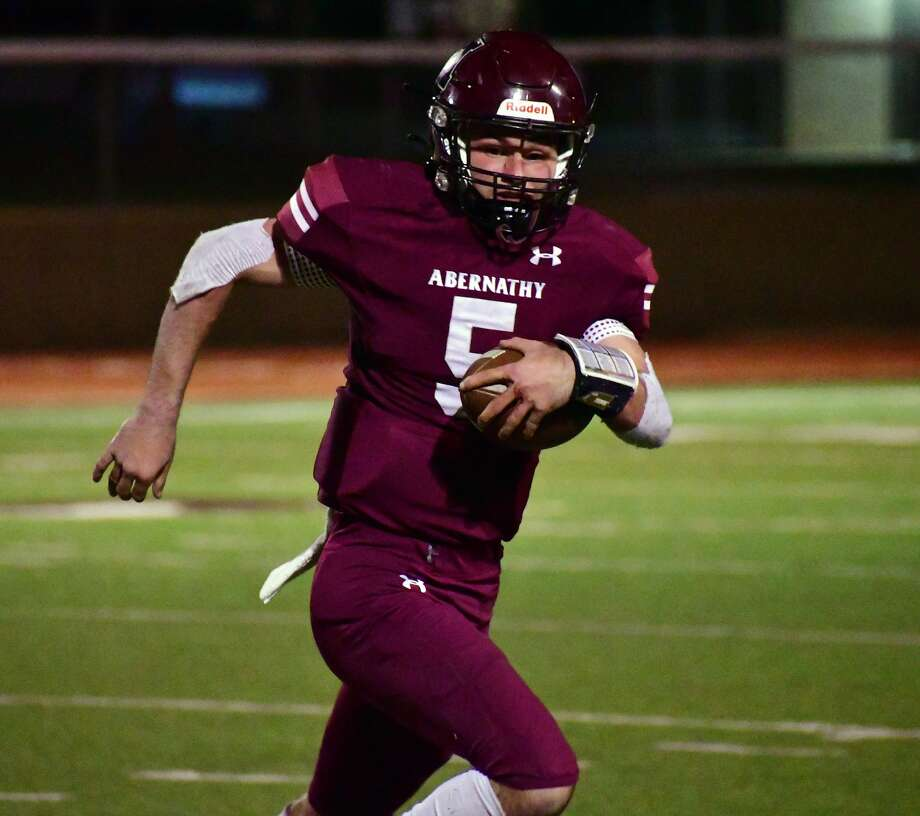 Jess Hoel and the Abernathy football team squares off with Stanton looking to clinch a playoff spot. Photo: Nathan Giese/Planview Herald