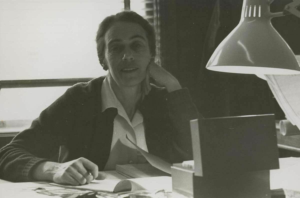 A 1970 phtograph of Enid Sales, chief of rehabilitation for the San Francisco Redevelopment Agency from 1966-1976.