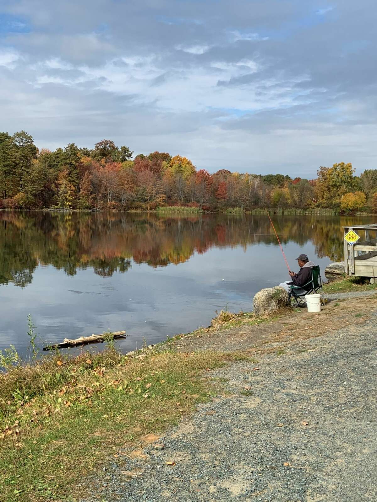 A couple of photos taken at the 6 mile waterworks park in late October by Judith Duckor of Loudonville