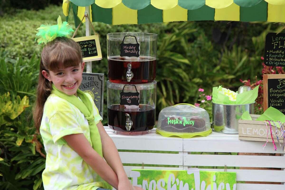 Sugar Land fourth grader Sabrina Roesler has been named the Lemonade Day Houston 2020 Youth Entrepreneur of the Year.