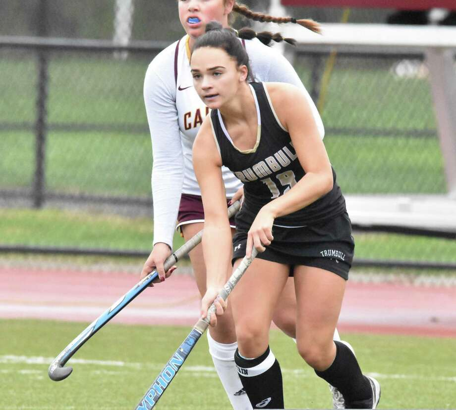 Lauren Buck scored 3 goals for Trumbull in its win over St. Joseph. Photo: Trumbull Athletics / Contributed Photo / Trumbull Times