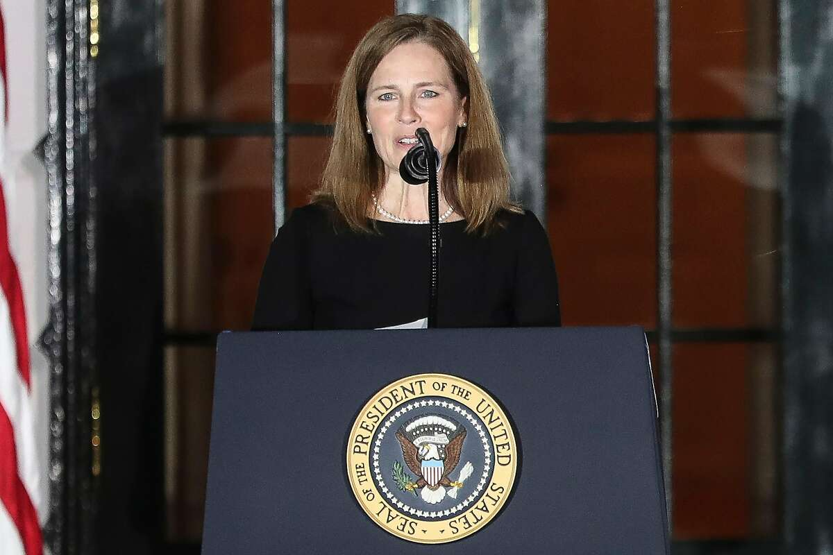Supreme Court Justice Amy Coney Barrett didn't participate in the rulings as she did not have time to digest the arguments.