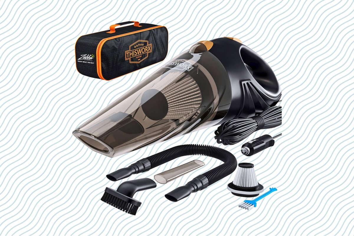 ThisWorx Portable Car Vacuum Cleaner, 53% off on Amazon