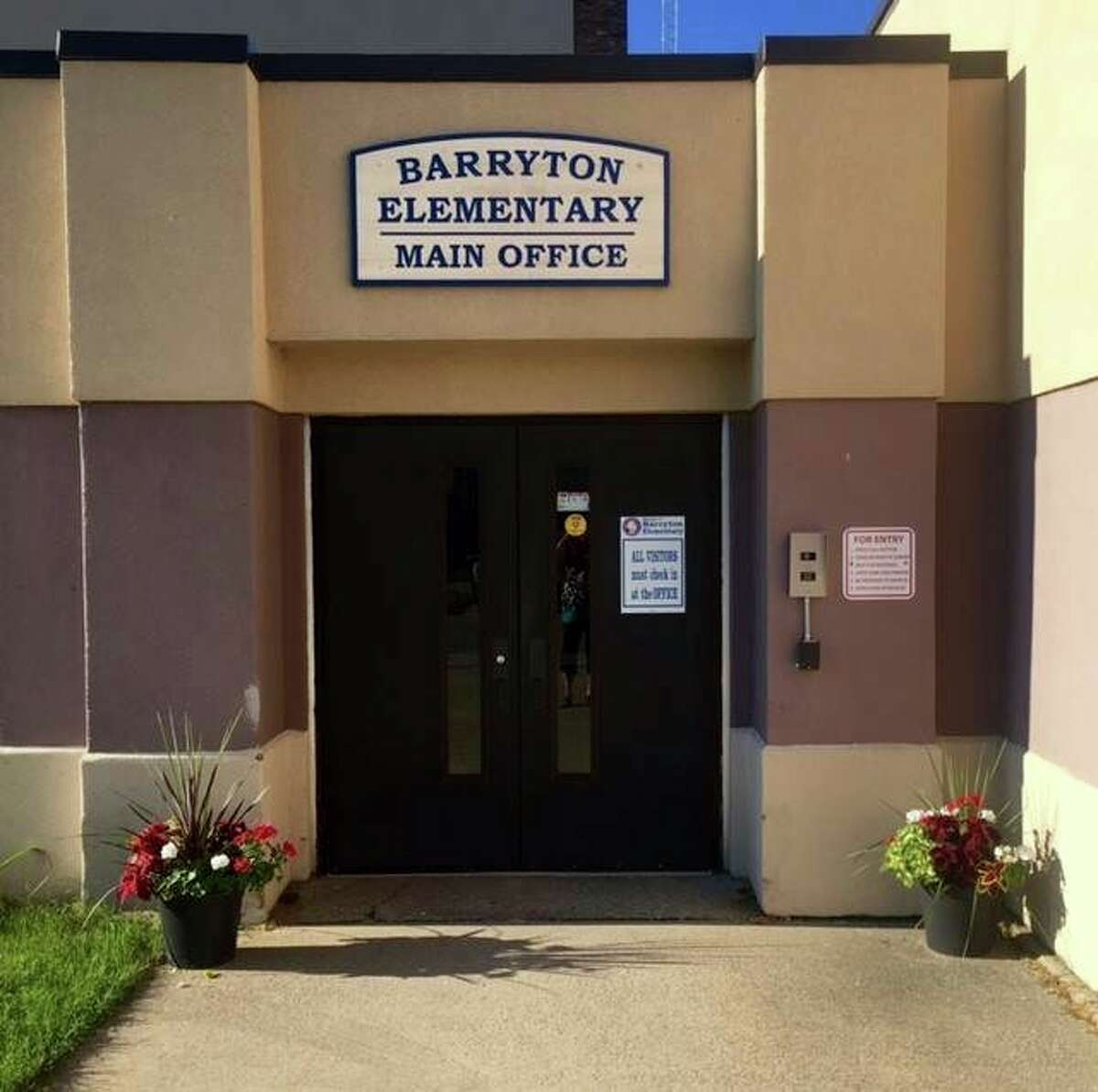 Barryton Elementary School will be closed for two weeks, following several positive COVID-19 tests at the building. The school will reopen Nov. 12. (Courtesy photo)