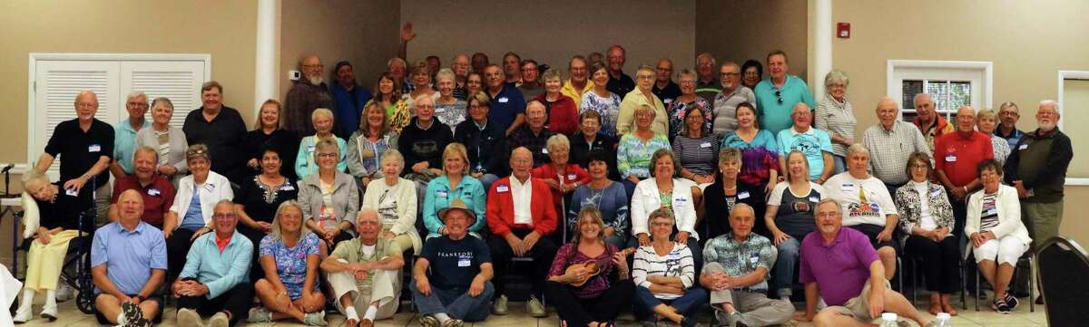 The 2021 Benzie Florida Picnic has been canceled due to rental facilities not being available. The 2020 picnic had over 70 people from Benzie County area (pictured), formerly from Benzie and Florida residents attend.(Courtesy Photo)