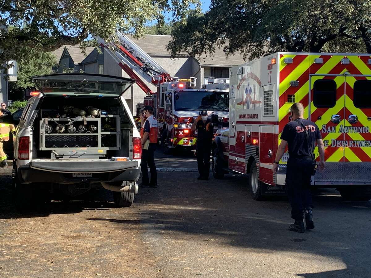 One person has died in an apartment fire on the Northeast Side, according to the San Antonio Fire Department.