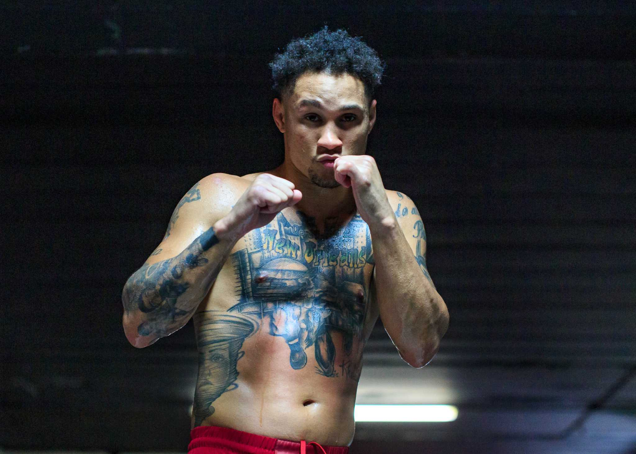 Regis Prograis boxes with New Orleans in his heart, but Houston in his hands