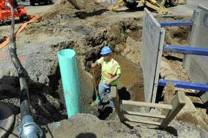A Thursday morning water main break in Danbury is affecting water supply to several streets.