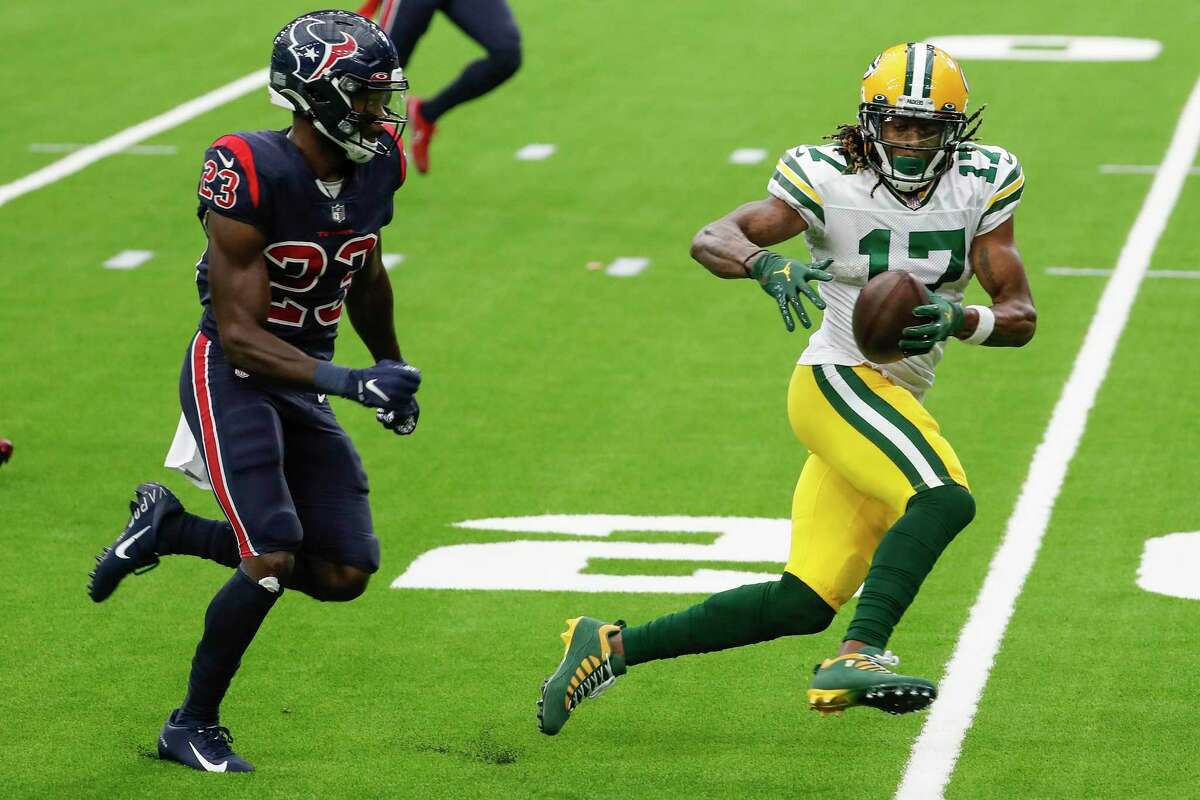 Eric Murray and the Texans secondary were a step behind Davante Adams all game long in a loss to the Packers.