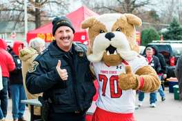 Ferris State University Chief of Police Bruce Borkovich is retiring from the position of chief Friday. He said his favorite part of the job has been working with the students and campus community. (Pioneer file photo)