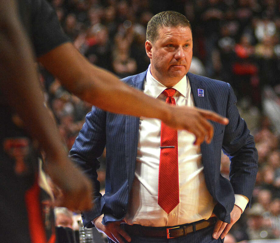 Head coach Chris Beard's Texas Tech men's basketball team was picked fifth in the preseason Big 12 poll that was released on Thursday. Photo: Nathan Giese/Planview Herald