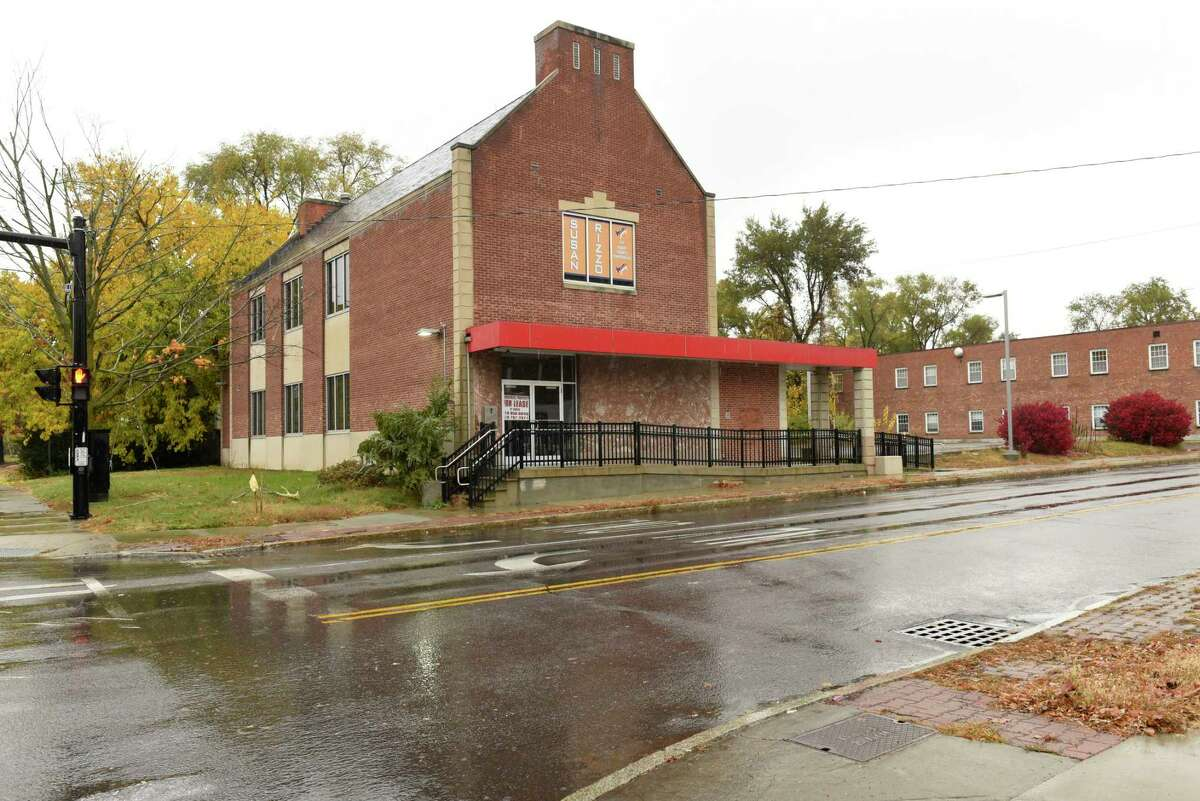 Corner of Colvin Avenue and Washington Ave. where Stewart's wants to build a store and gas station on Thursday, Oct. 29, 2020 in Albany, N.Y. (Lori Van Buren/Times Union)