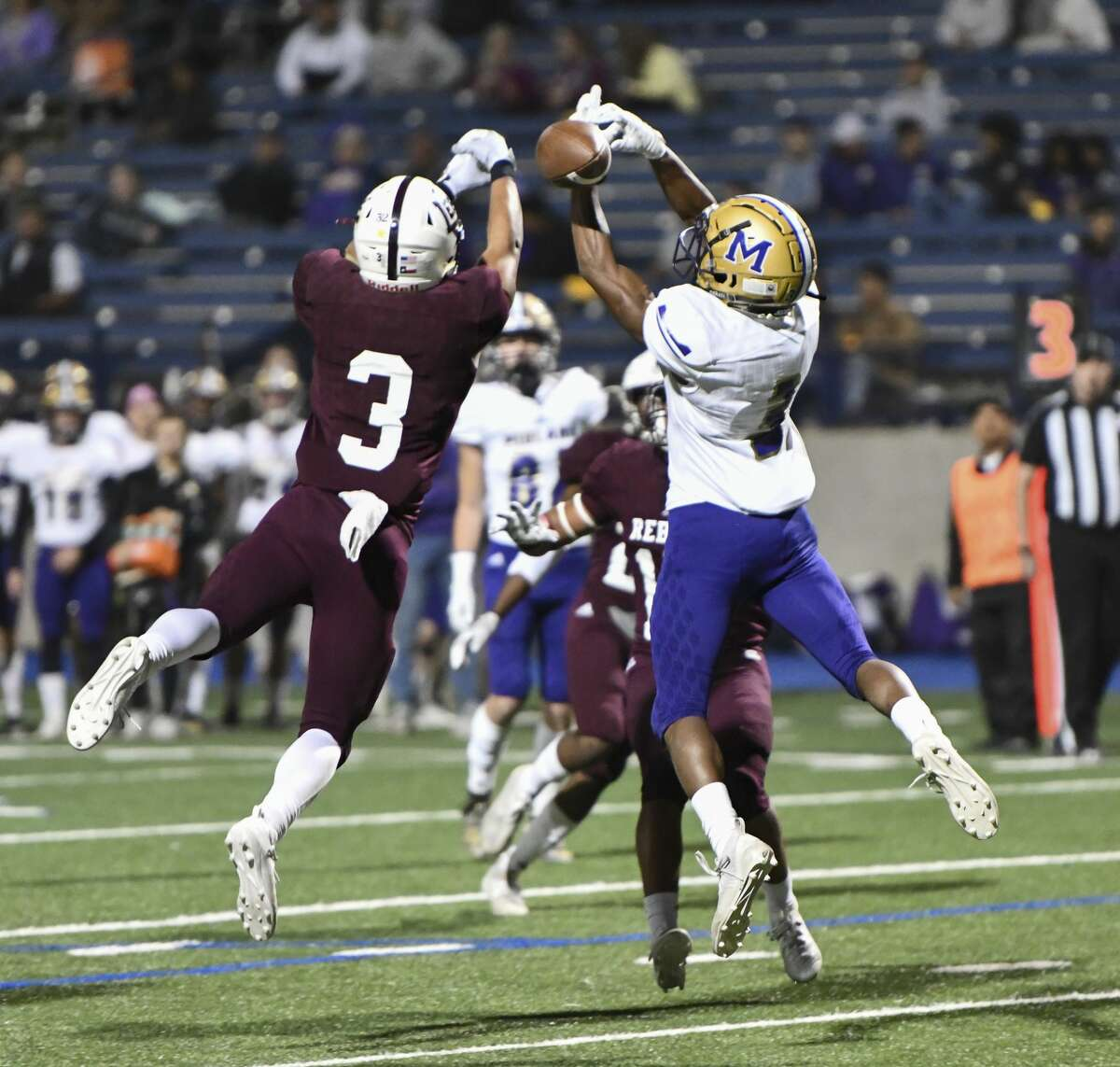 Midland High and Lee High faced off Nov. 1, 2019, at Grande Communications Stadium. Studies have shown that residents are happy with their city if they have opportunities for chance encounters - such as might occur at a sporting event.