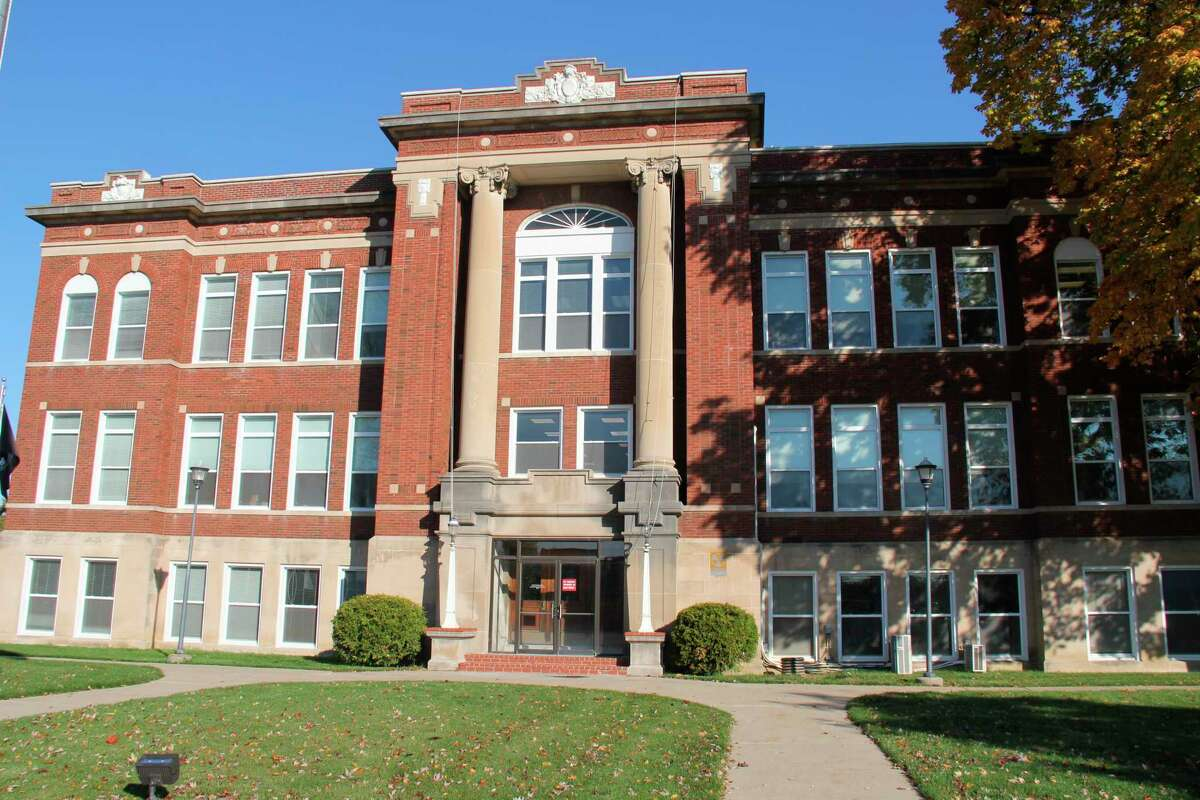 The Sanilac County building in Sandusky. (Robert Creenan/Huron Daily Tribune)