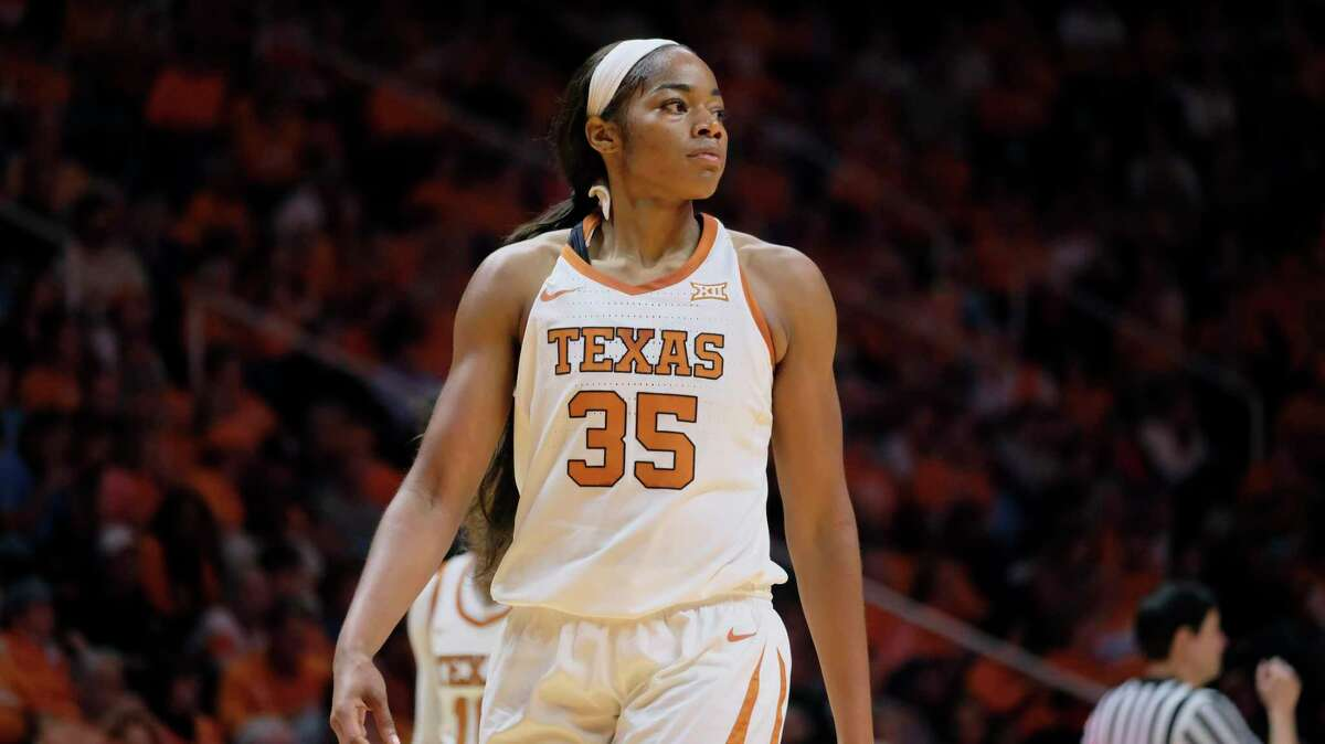 Texas forward Charli Collier led Texas with 13.1 points, 10.5 rebounds and 1.3 blocks last season as a sophomore. She also hit 28 of 79 3-pointers.