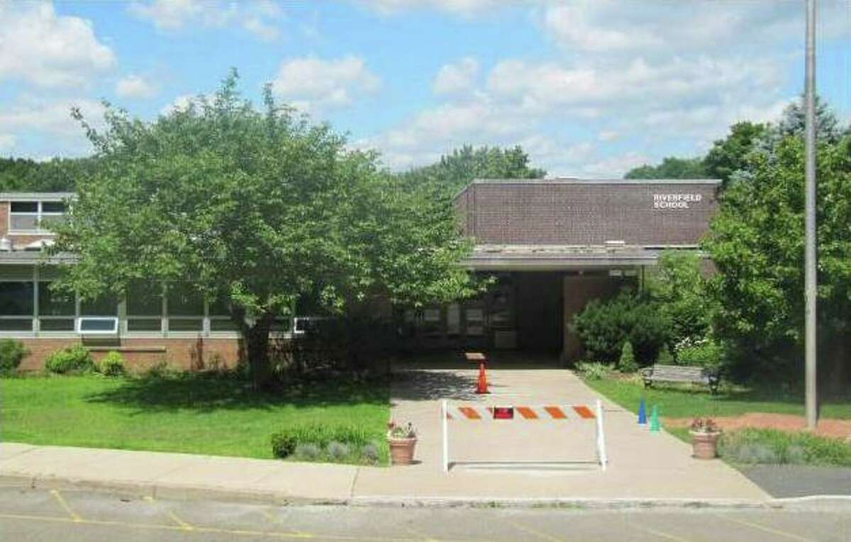 Pictured is Riverfield Elementary School on Mill Plain Road.