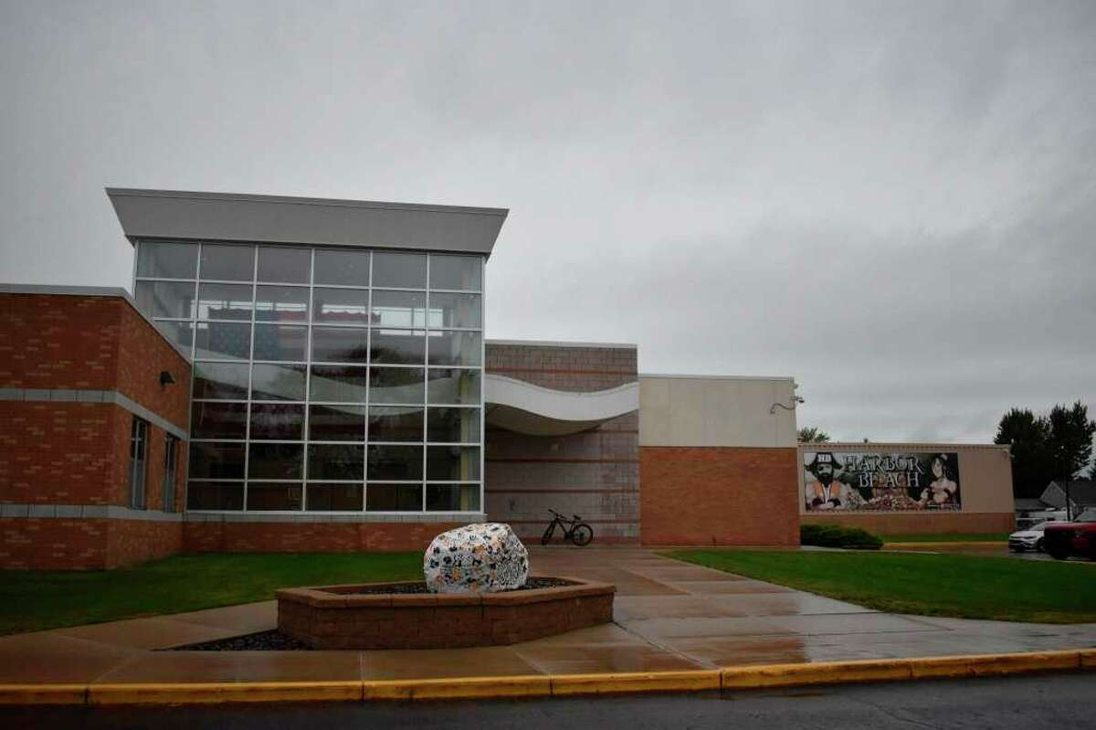 After a staff member at Harbor Beach Middle and High School tested positive for the coronavirus, school administration is evaluating their COVID protocols to ensure similar success in limiting the spread in the future. (Paige Withey, Huron Daily Tribune)