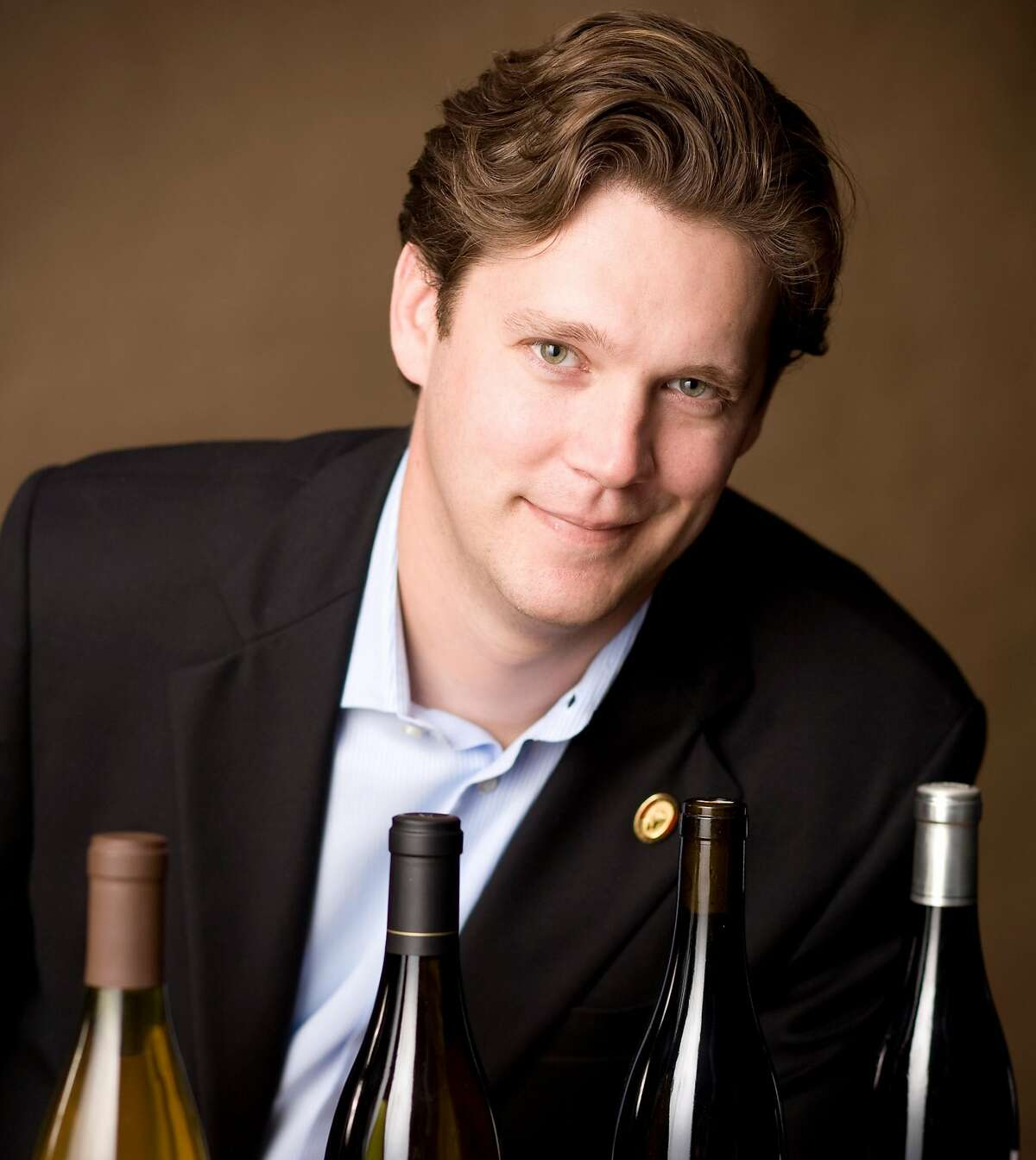 Geoff Kruth, pictured when he was the wine director of the Farmhouse Inn in Forestville (Sonoma County), has been accused of sexual misconduct, according to the New York Times.
