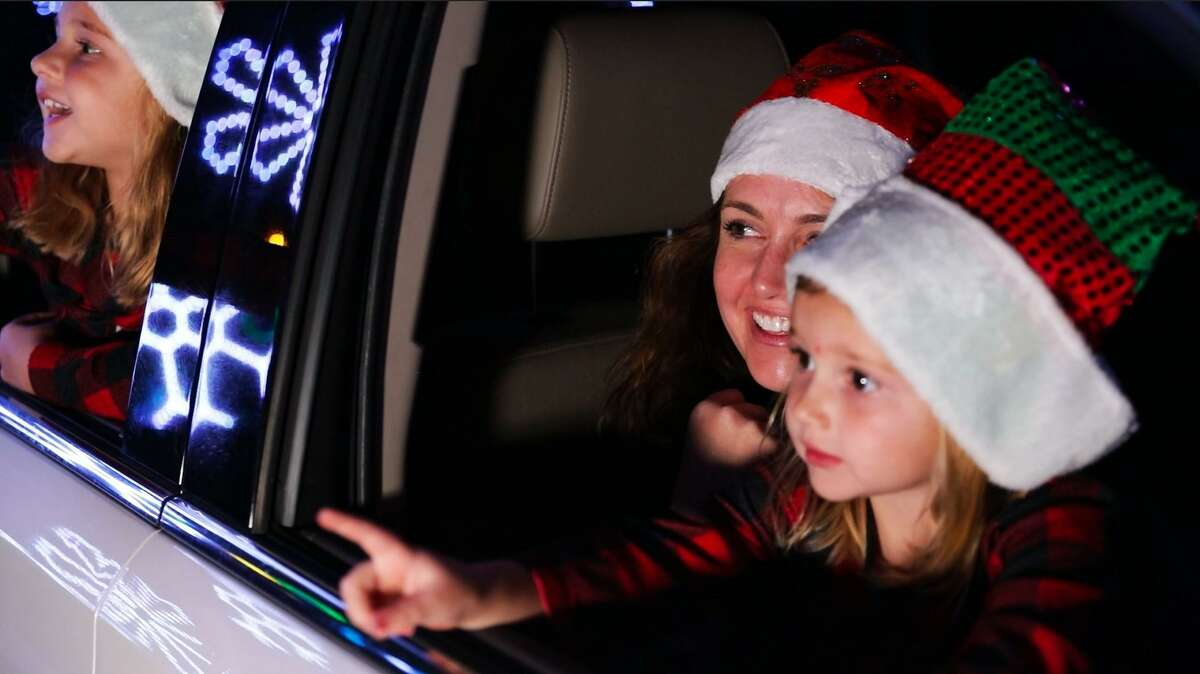 The Light Park in Spring is a new drive-thru holiday light show featuring over 1 million animated lights and a 700-foot LED tunnel.