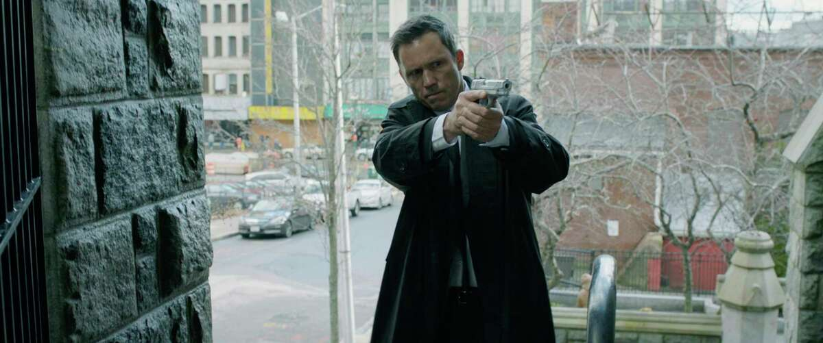 This image released by Open Road Films shows Jeffrey Donovan in a scene from
