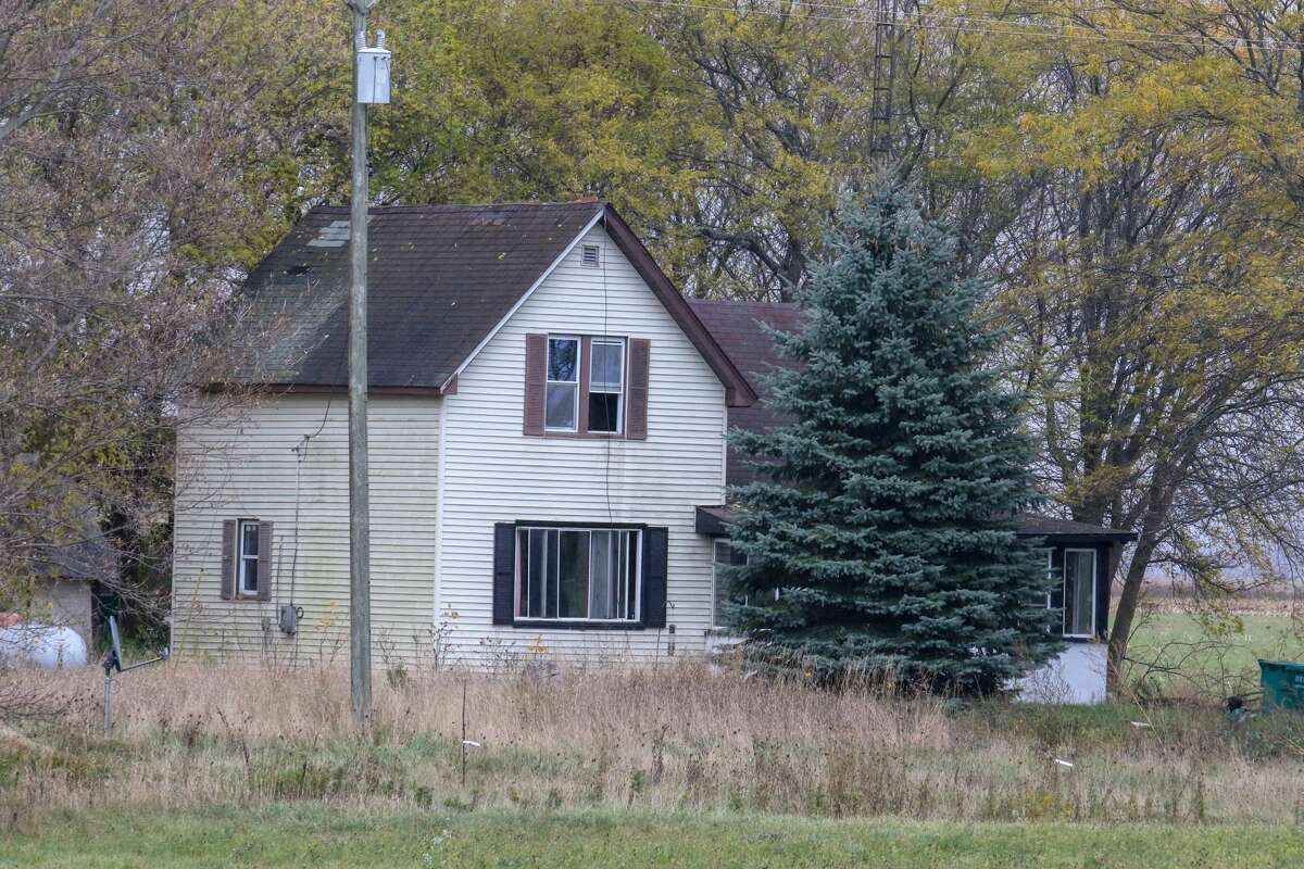A house on the outskirts of Bad Axe was the location of a raid by FBI and Michigan State Police Oct. 29, as they apprehended the alleged leader of a white supremacy group.