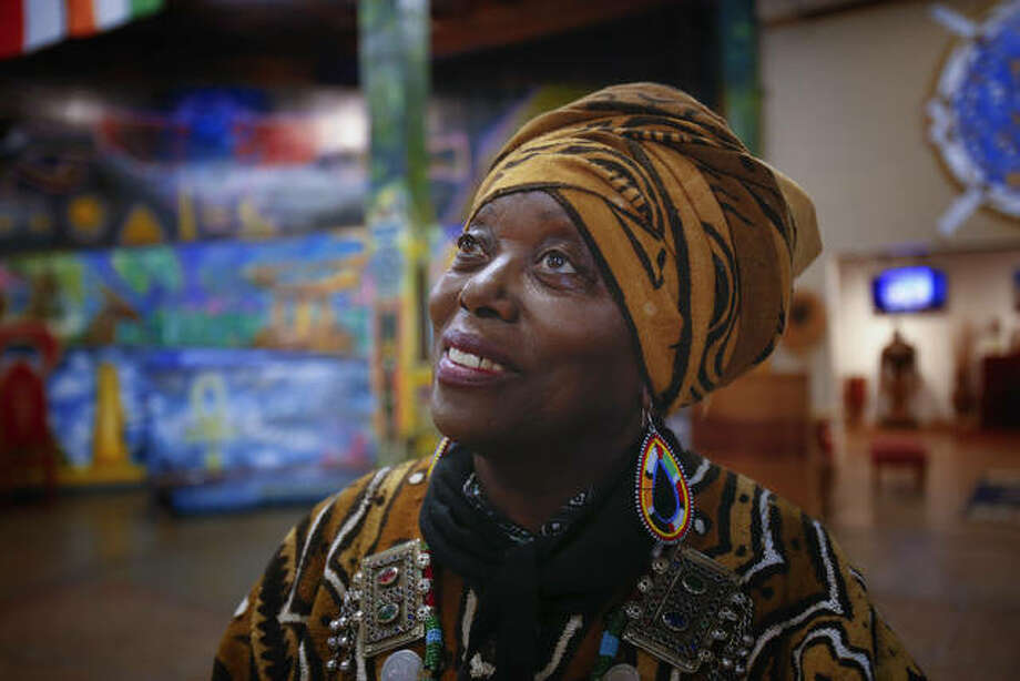 Makeda Dread Cheathom is the founder of Balboa Park's WorldBeat Cultural Center, which she opened in 1989. The nonprofit center and music and dance venue has been shuttered since March because of the coronanvirus pandemic.
