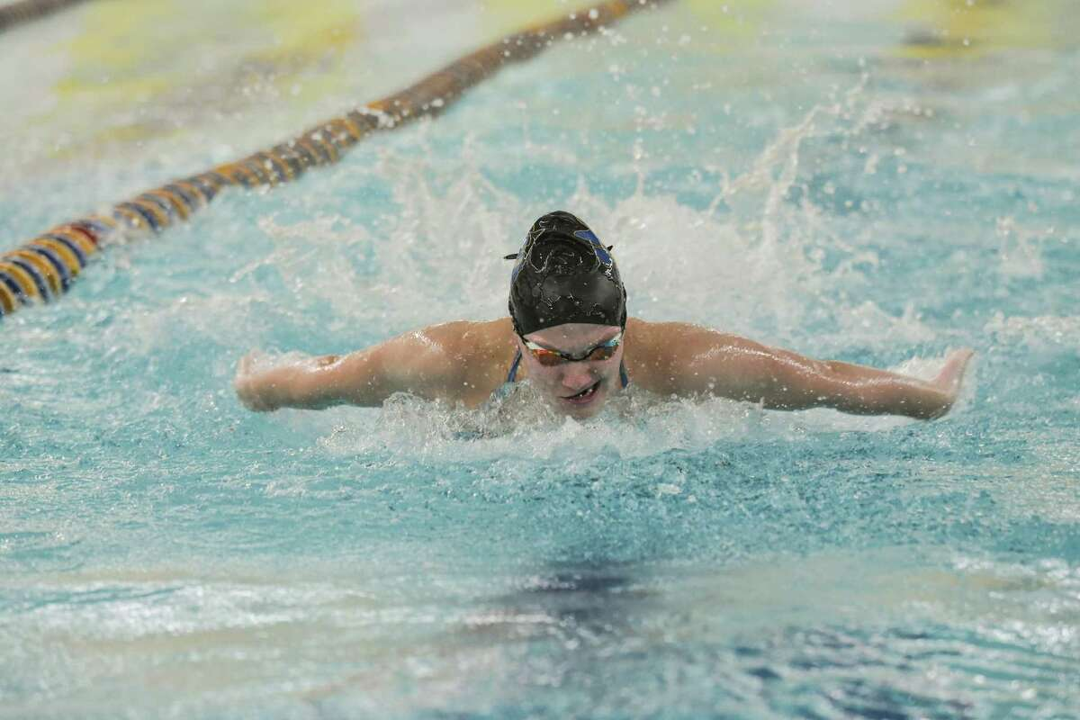 Olivia Velleco, a Seymour senior, paces the team in several events.