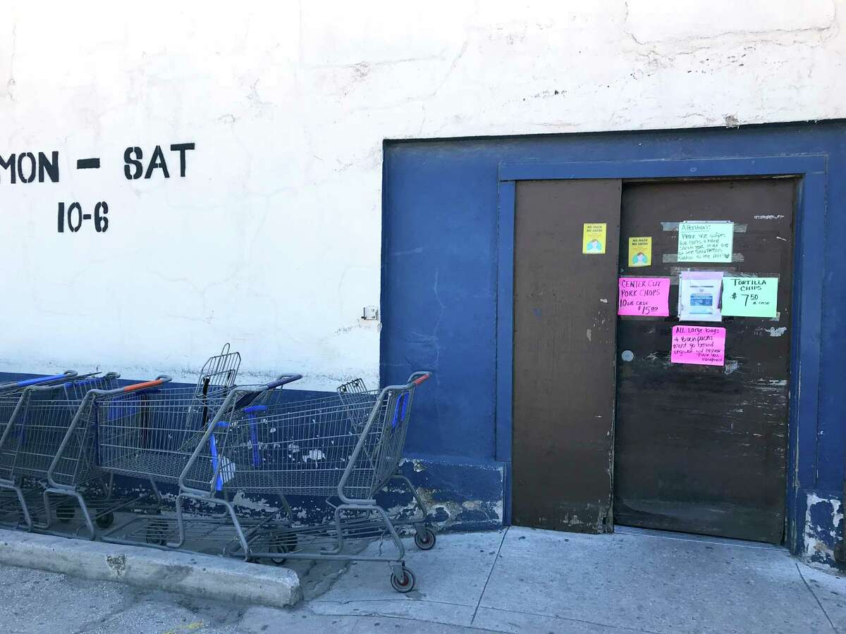 AAA Freight Salvage Groceries is open 10 a.m. to 6 p.m. Monday through Saturday at 1111 S. Presa St.