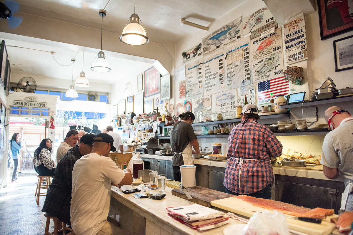Swan Oyster Depot has remained a mainstay of San Francisco for decades, remaining open through shelter-in-place as they continued on feeding locals and supplying them with seafood during uncertain times.