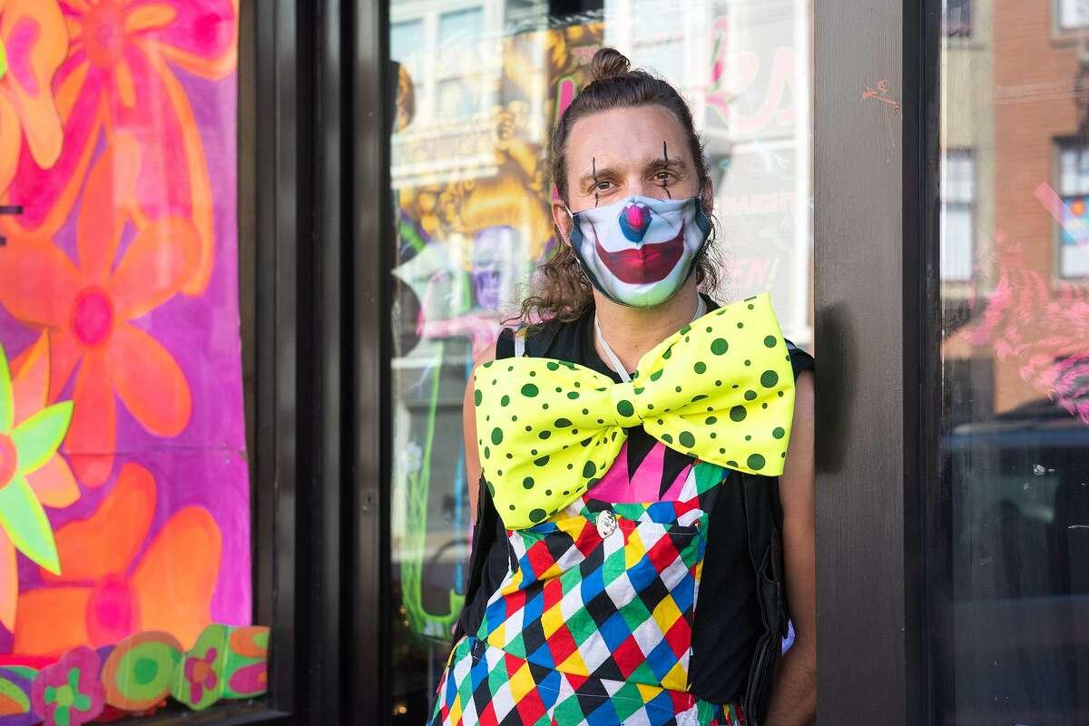 Austin Efurd, owner of Costuming on Haight.