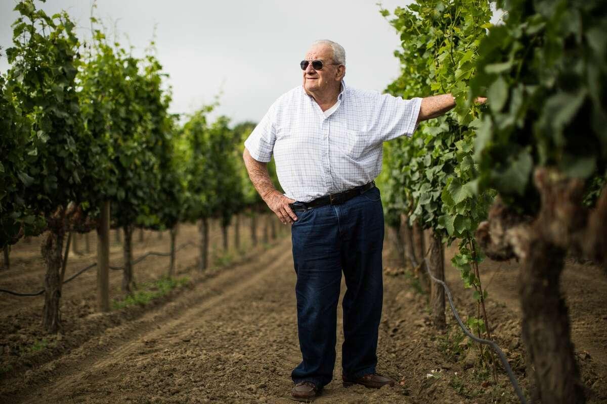 Joe Rochioli, Jr. poses for a portrait at Rochioli Vineyards in Healdsburg, California on June 27, 2017.