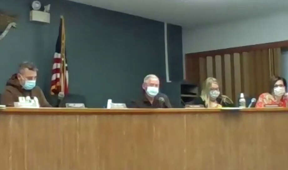 An obscenity uttered during a South Jacksonville committee meeting by an audience member prompted a trustee to apologize for the remark. Photo: Journal-Courier