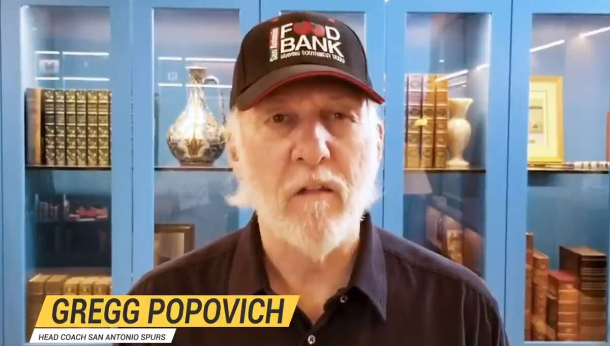San Antonio Spurs Coach Gregg Popovich officially endorsed Joe Biden in a new ad by The Lincoln Project.