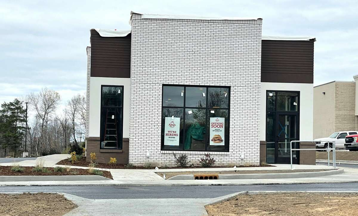 This new Arby's location in Big Rapids, located at 1298 Perry Avenue, is set to open in December. The location will house 32 parking space, 43 seats and a drive-thru option.