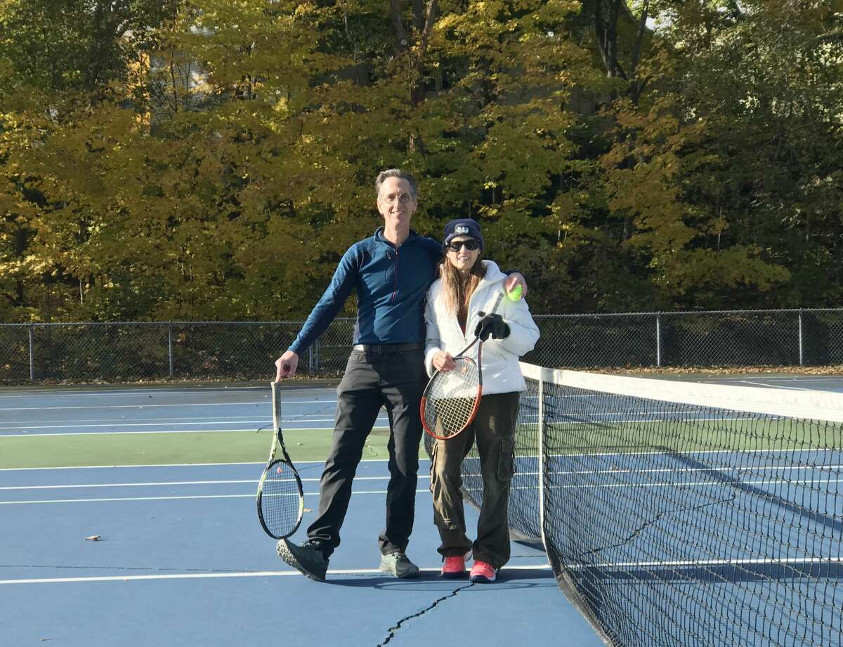 For over 80 years, Ramona Seath-Lubke, of Big Rapids, has found enjoyment out of playing tennis. She started playing when she was around 12 and still gets together with friends in Big Rapids for matches.
